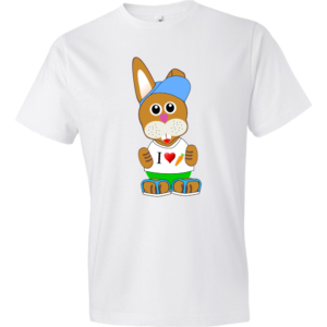 Bunny-Lightweight-Fashion-Short-Sleeve-T-Shirt-by-iTEE.com