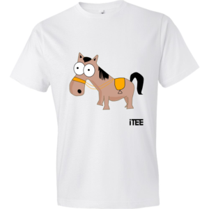 Donkey-Lightweight-Fashion-Short-Sleeve-T-Shirt-by-iTEE.com