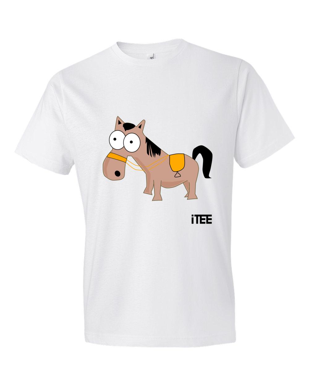 Donkey-Lightweight-Fashion-Short-Sleeve-T-Shirt-by-iTEE.com