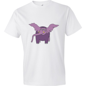 Elephant-Lightweight-Fashion-Short-Sleeve-T-Shirt-by-iTEE.com