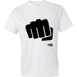 Fist-Lightweight-Fashion-Short-Sleeve-T-Shirt-by-iTEE.com-1