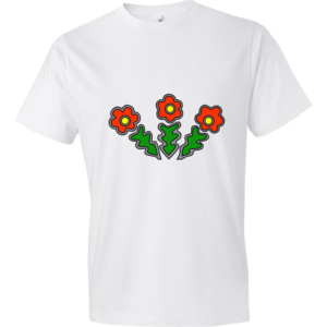 Flowers-Lightweight-Fashion-Short-Sleeve-T-Shirt-by-iTEE.com