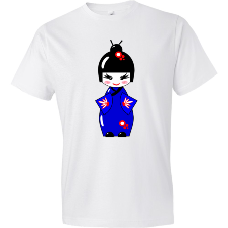 Geisha-Lightweight-Fashion-Short-Sleeve-T-Shirt-by-iTEE.com