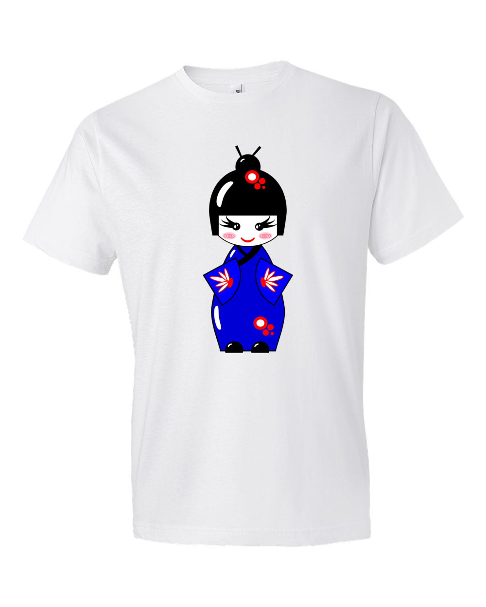 Geisha-Lightweight-Fashion-Short-Sleeve-T-Shirt-by-iTEE.com