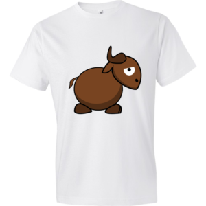 Gnu-Lightweight-Fashion-Short-Sleeve-T-Shirt-by-iTEE.com