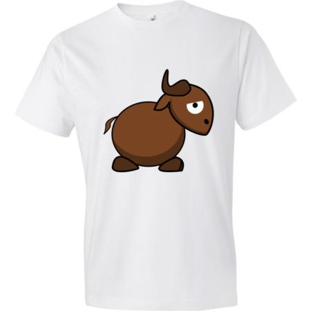 Gnu-Lightweight-Fashion-Short-Sleeve-T-Shirt-by-iTEE.com