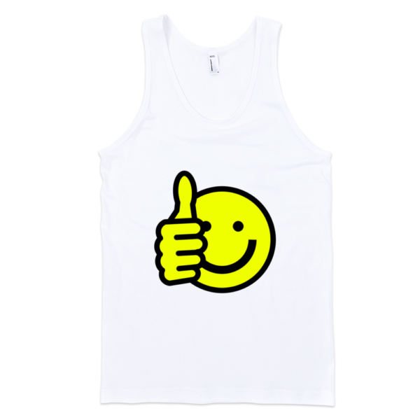 Good-Smiley-Fine-Jersey-Tank-Top-Unisex-by-iTEE.com