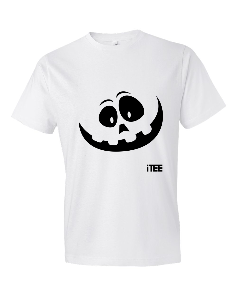 Happy-Ghost-Lightweight-Fashion-Short-Sleeve-T-Shirt-by-iTEE.com