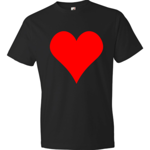 Heart-Lightweight-Fashion-Short-Sleeve-T-Shirt-by-iTEE.com