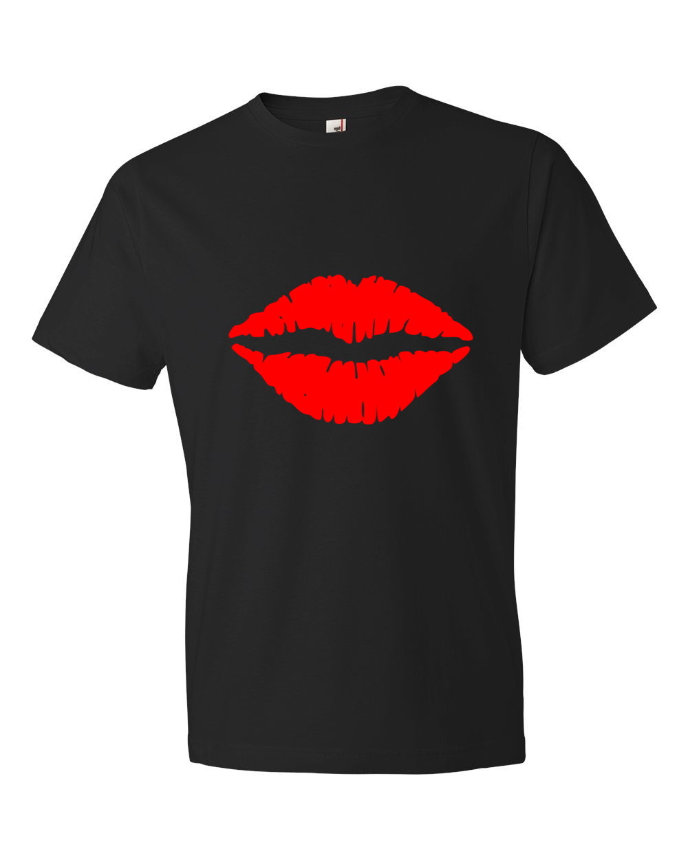 Kiss-Lightweight-Fashion-Short-Sleeve-T-Shirt-by-iTEE.com