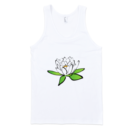 Lotus-Fine-Jersey-Tank-Top-Unisex-by-iTEE.com