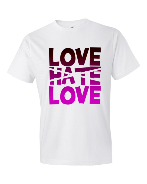 Love-Hate-Love-Lightweight-Fashion-Short-Sleeve-T-Shirt-by-iTEE.com
