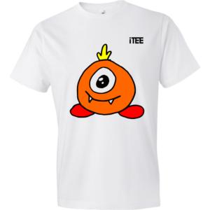 One-eyed-Alien-Lightweight-Fashion-Short-Sleeve-T-Shirt-by-iTEE.com