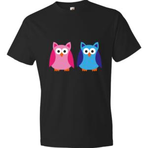 Owls-Lightweight-Fashion-Short-Sleeve-T-Shirt-by-iTEE.com