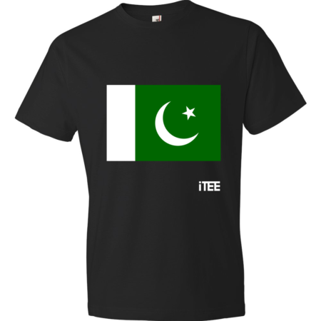 Pakistan-Lightweight-Fashion-Short-Sleeve-T-Shirt-by-iTEE.com