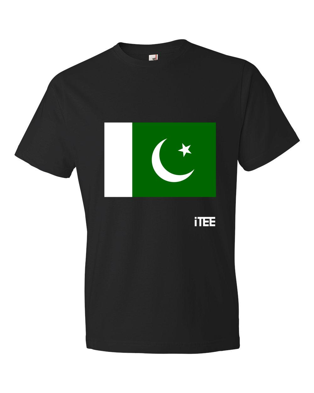 Pakistan-Lightweight-Fashion-Short-Sleeve-T-Shirt-by-iTEE.com
