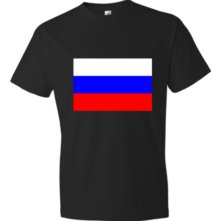 Russia-Lightweight-Fashion-Short-Sleeve-T-Shirt-by-iTEE.com