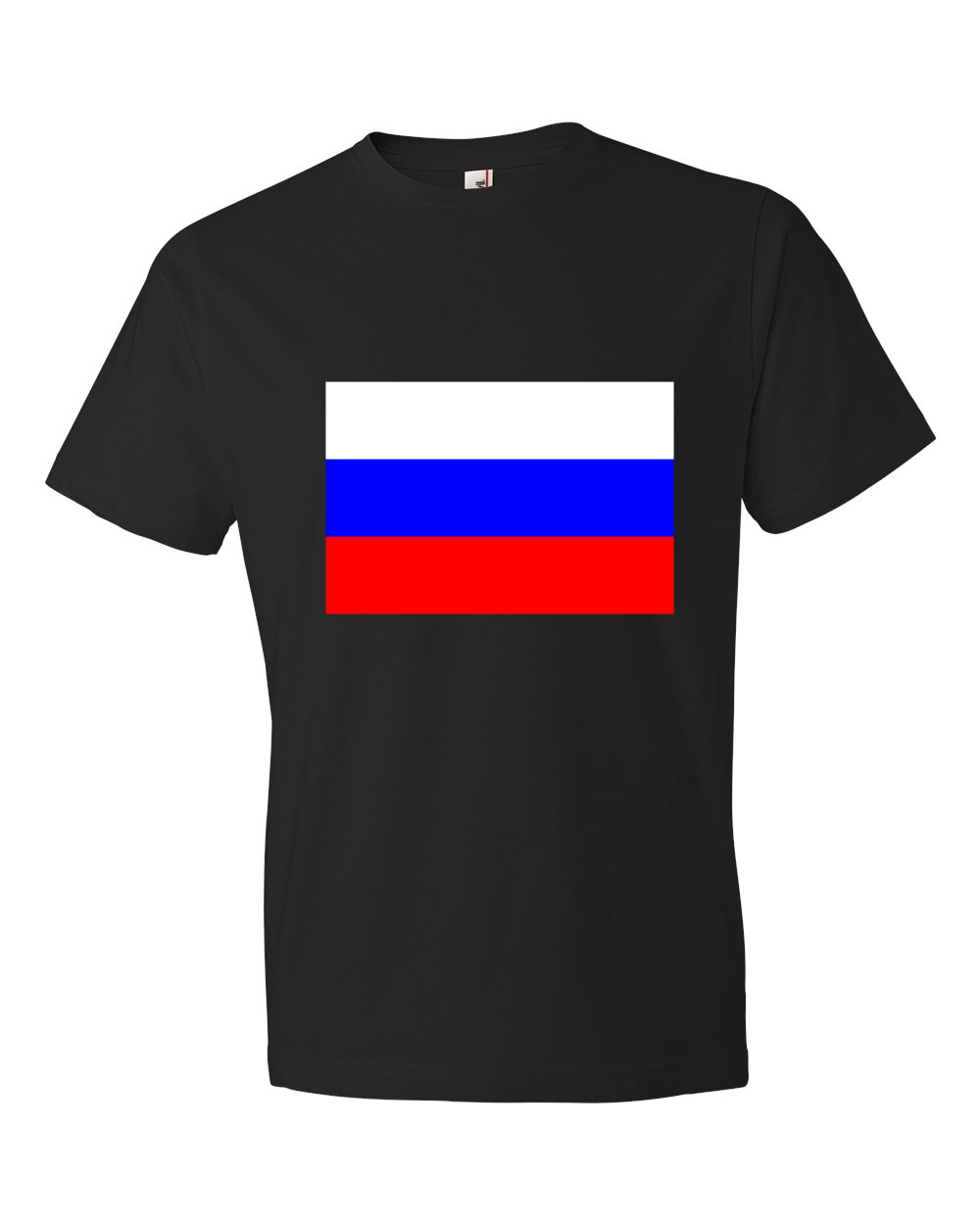 Russia-Lightweight-Fashion-Short-Sleeve-T-Shirt-by-iTEE.com