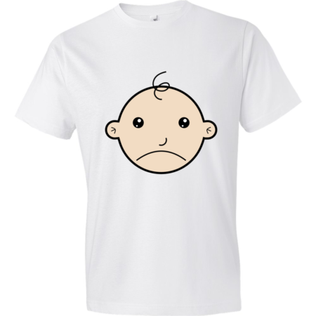 Sad-Baby-Lightweight-Fashion-Short-Sleeve-T-Shirt-by-iTEE.com