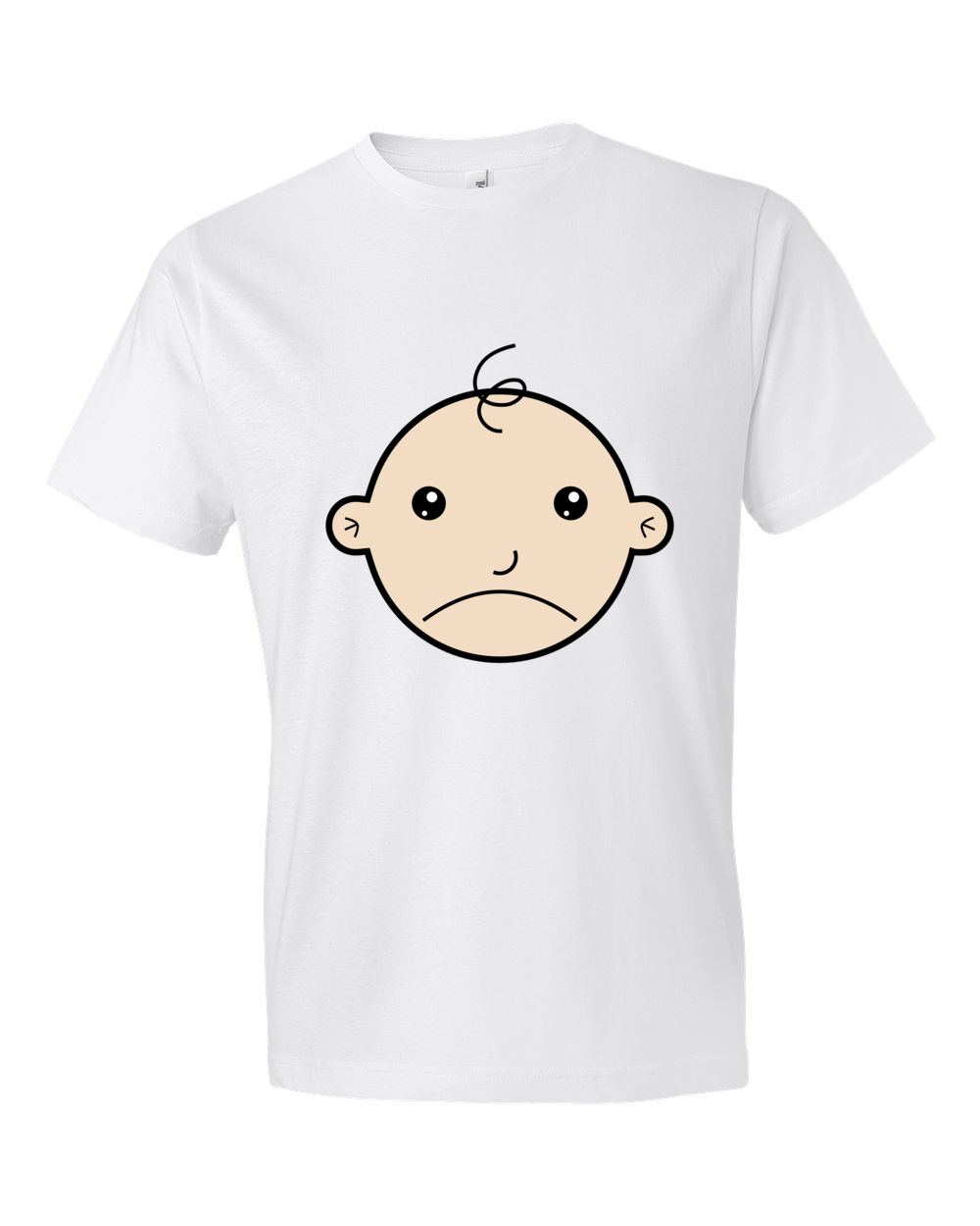 Sad-Baby-Lightweight-Fashion-Short-Sleeve-T-Shirt-by-iTEE.com