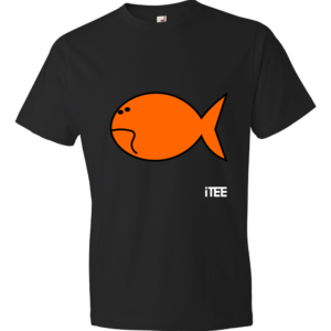 Sad-Fish-Lightweight-Fashion-Short-Sleeve-T-Shirt-by-iTEE.com