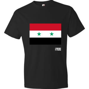 Syria-Lightweight-Fashion-Short-Sleeve-T-Shirt-by-iTEE.com
