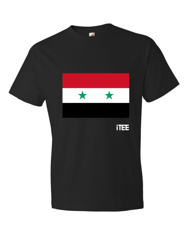 Syria-Lightweight-Fashion-Short-Sleeve-T-Shirt-by-iTEE.com