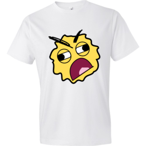 Tired-Smiley-Lightweight-Fashion-Short-Sleeve-T-Shirt-by-iTEE.com