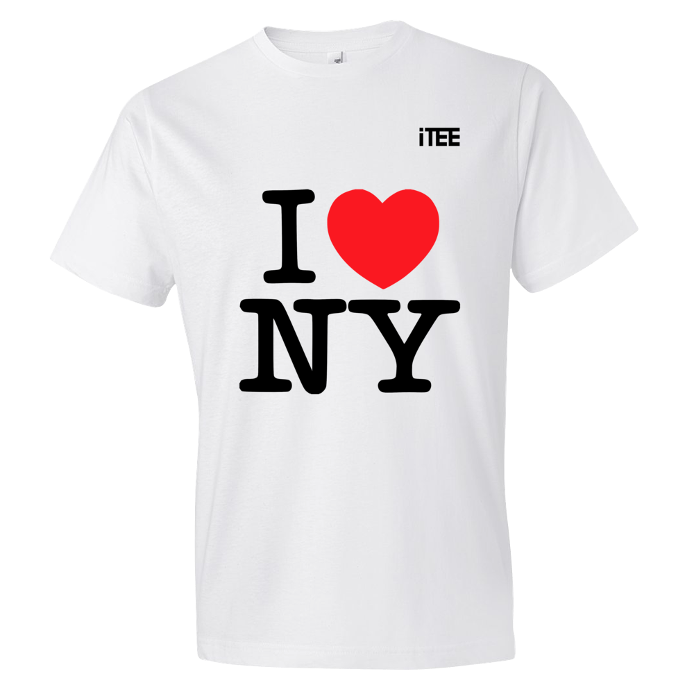 I love New York Lightweight Fashion Short Sleeve T-Shirt by iTEE.com 75276fc4ab0