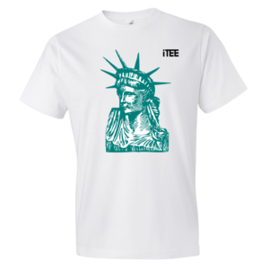 Statue-of-Liberty-Lightweight-Fashion-Short-Sleeve-T-Shirt-by-iTEE.com