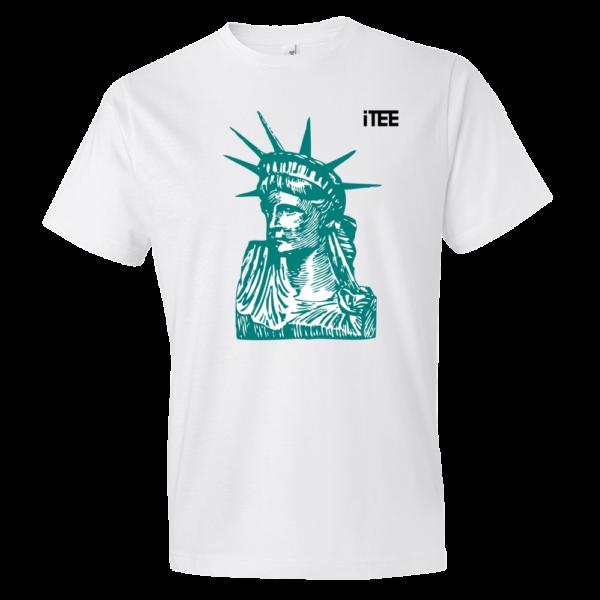 Statue-of-Liberty-Lightweight-Fashion-Short-Sleeve-T-Shirt-by-iTEE.com