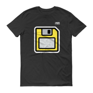 floppy-disk-lightweight-fashion-short-sleeve-t-shirt-by-itee-com