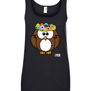 lady-owl-ladies-missy-fit-ring-spun-tank-top-by-itee-com