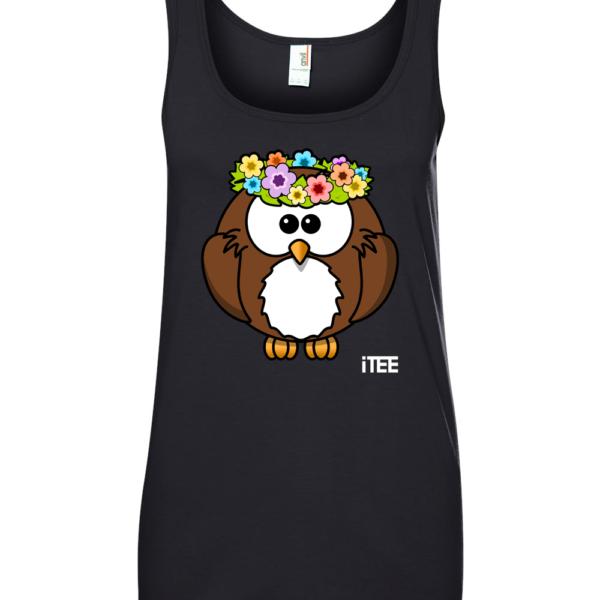 lady-owl-ladies-missy-fit-ring-spun-tank-top-by-itee-com
