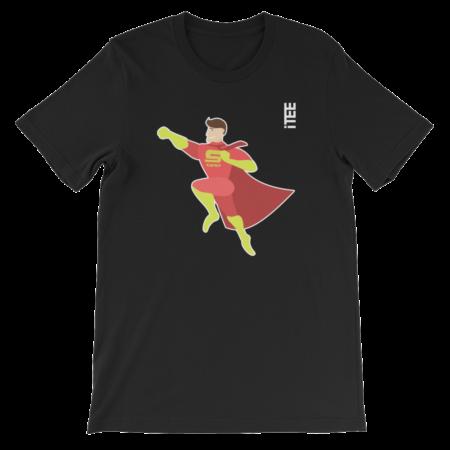 Super Dad Unisex Short Sleeve Jersey T-Shirt by iTEE.com