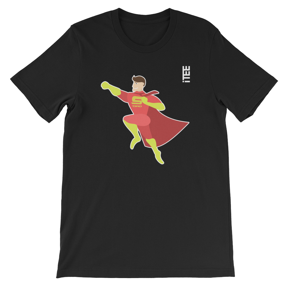 Super Dad Unisex Short Sleeve Jersey T-Shirt by iTEE.com