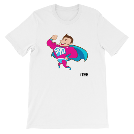 Superdad Unisex Short Sleeve Jersey T-Shirt by iTEE.com