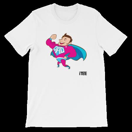 Superdad Unisex Short Sleeve Jersey T-Shirt by iTEE.com