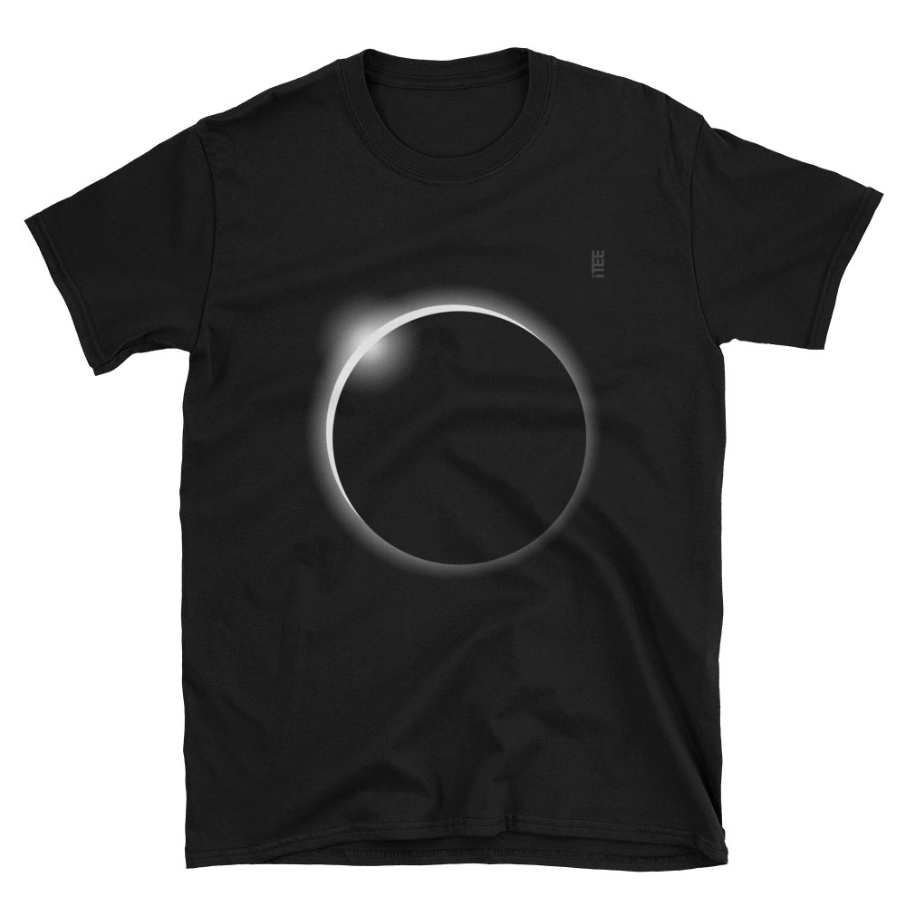 Solar Eclipse Unisex Soft-style T-Shirt by iTEE